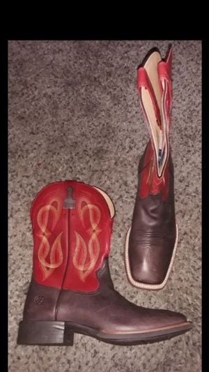 SHuge SALE Brand New Mens Cowboy boots Botas work ARIAT bota Size 10 for Sale in Scottsdale, AZ