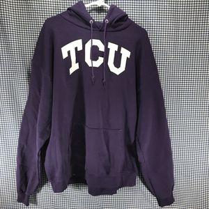 TCU Texas Christian University Hoodie Sweatshirt Men's Size XXL for Sale in Anchorage, AK