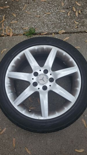 Rims for benz for Sale in Dearborn Heights, MI