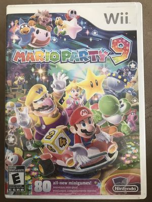 Mario Party 8 and 9 Wii for Sale in Henderson, NV