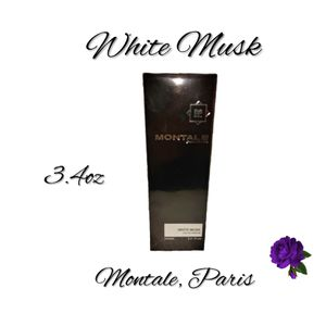 Montale, Paris White Musk. 3.4oz New. SHIPPING ONLY!!! for Sale in Colorado Springs, CO