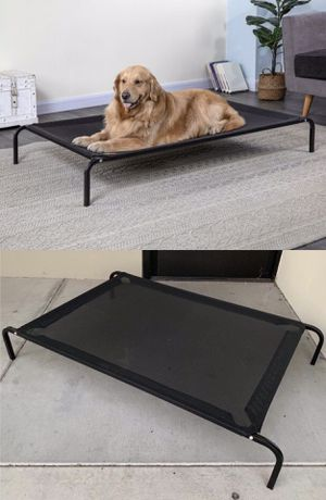 New in box XL X-large raised dog pet cot bed 52x32x8 inches tall for large pets up to 115 lbs capacity elevated cuna de perro for Sale in Los Angeles, CA