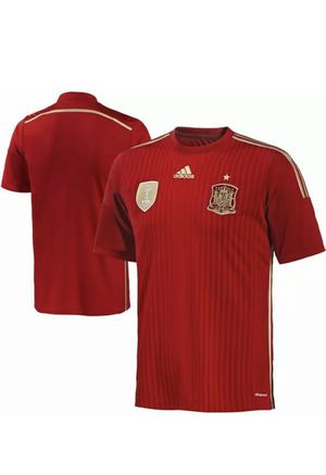 adidas Spain Soccer Jersey (Home 14/15) - L for Sale in Portland, OR