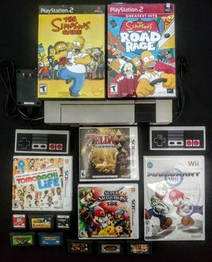 Nintendo Entertainment System And Games Bundle for Sale in Covina, CA