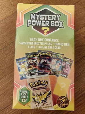 Pokemon Mystery Power Box Sealed for Sale in Quincy, MA
