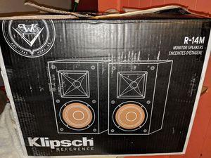Klipsch bookshelf monitor speakers for Sale in Jonesboro, AR