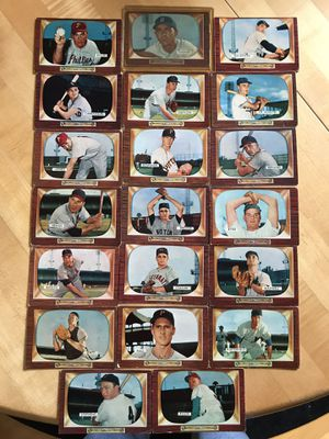 1955 BOWMAN BASEBALL CARDS For Sale for Sale in Lafayette, CA