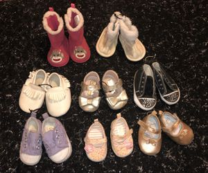 8 INFANT GIRL SHOES 💗 for Sale in Exeter, CA