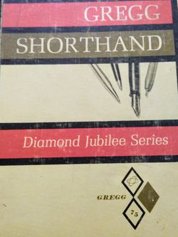 1963 Gregg Shorthand Textbook for Sale in Monroeville,  PA
