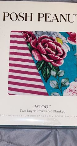 Eloise and Kerry Patoo Two Layer Reversible Blanket for Sale in Nazareth,  PA