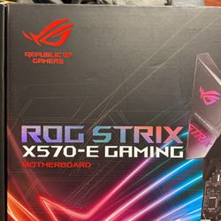 ASUS ROG STRIX X570-E GAMING Motherboard for Sale in Union City,  NJ