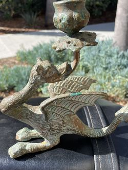 Cast Iron Dragon Candle From England Vintage for Sale in Vista,  CA