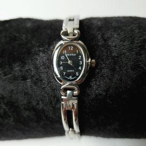 Cote d' Azur Silver Tone Link Bracelet Watch Quartz Japan Movt NEW for Sale in Temecula, CA