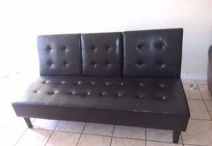 Futon sofa bed frame new in the box. Free delivery and free set up for Sale in Hialeah, FL