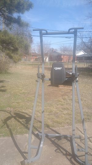 I have a fitness gear pull-up workout stand up for sale good condition for Sale in Oklahoma City, OK