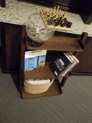 *DIY* Leaning Book Shelf | Brown for Sale in Chicago, IL