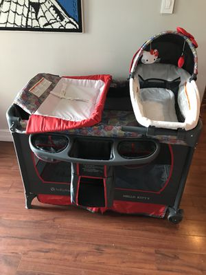 Hello Kitty / Baby Trend Deluxe Nursery Center for Sale in Miramar, FL