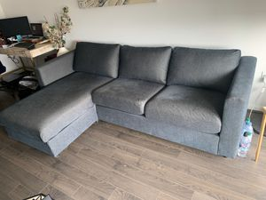 IKEA NEW Vimle Sectional in Tallmyra Black/Grey for Sale in McLean, VA