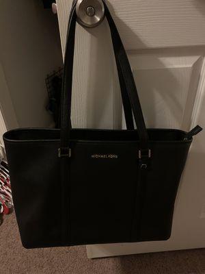 Michael Kors black tote bag $75 for Sale in Oakwood, GA