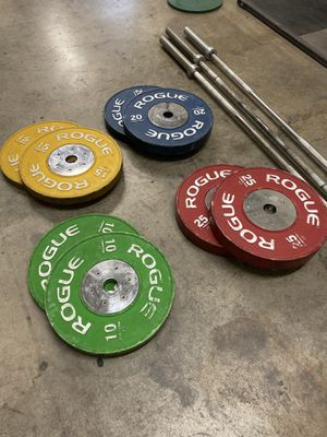 Rogue Fitness Barbell / Competition Plates/ Eleiko for Sale in Lawndale, CA