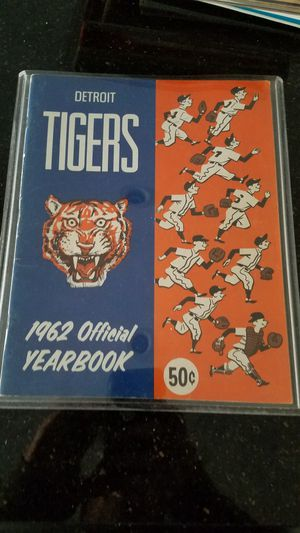 1962 Detroit Tigers yearbook for Sale in Grosse Pointe, MI