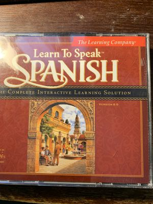 Learn to Speak Spanish - 4 disc - Cd-rom for Sale in Highland, IL