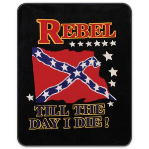 Confederate Flag Faux Fur Blanket for Sale in Kilgore, TX
