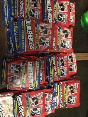 Double header baseball cards for Sale in Spanaway, WA