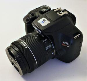 Canon EOS t6 camera and lens for Sale in Miami, FL