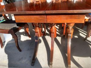 Antique table 6 chairs for Sale in Irvine, CA