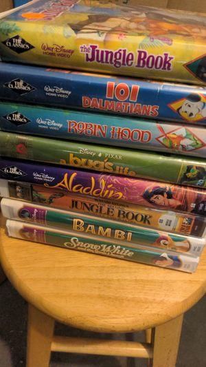 8 Disney VHS. $100 for Sale in Gilbert, AZ
