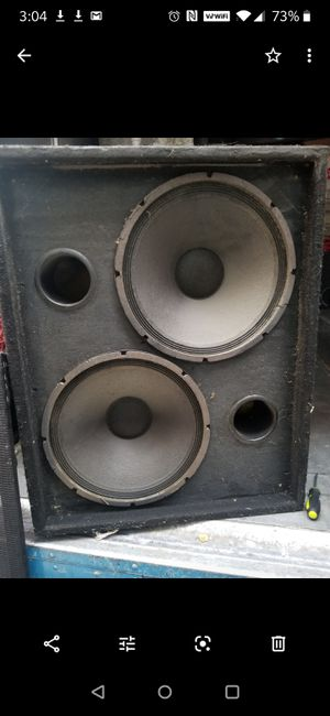 """DUAL 18"""" Eminence SPEAKERS for Sale in Chicago, IL"""