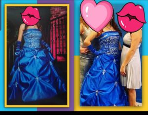 Navy blue dress!(quinceanera,prom,) for Sale in Kissimmee, FL