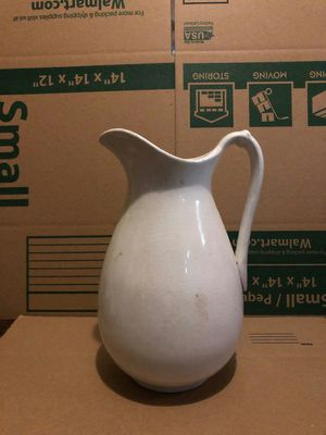 Antique Ironstone Porcelain Pitcher for Sale in Waynesville, NC