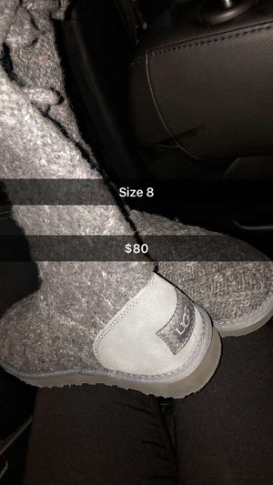 Grey uggs for Sale in Boston, MA