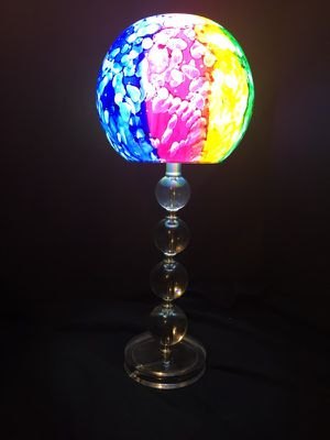 Multicolored sphere lamp for Sale in Grosse Pointe Park, MI
