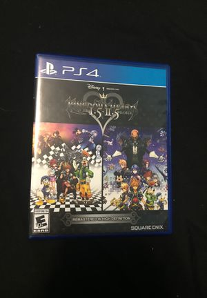 Kingdom Hearts 1.5 + 2.5 HD Remix for Sale in Sinton, TX