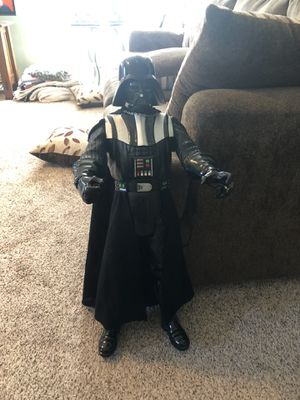 32 inch jakks pacific Star Wars dearth Vader stand up doll for Sale in Plainfield, IL