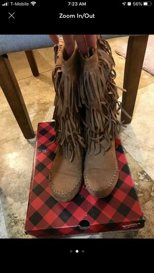 Fringe boots for Sale in Houston, TX