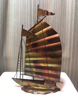 Bronze sailboat decor for Sale in Stamford, CT
