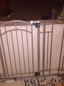 Metal Gate With Two Extensions for Sale in Glendale,  AZ