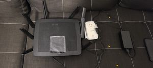 Linksys EA9500 V2 Max Stream AC5400 Router Optional***linksys Extender RE6700 EXTENDER for Sale in SIENNA PLANT, TX