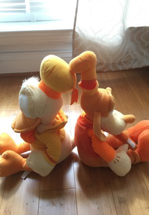 Donald and Goofy Plushies for Sale in Sully Station, VA