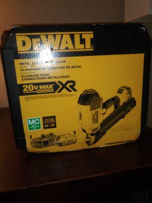 Dewalt 20v max xr cordless nail gun for Sale in Salt Lake City, UT