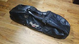 Rawlings Matrix Leather Like Sports Equipment Duffle Bag Black for Sale in East Point, GA