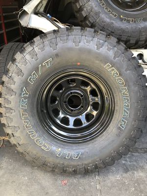 33s tire 33x12.5r14 5x114 for Sale in Poulsbo, WA
