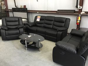 Astro 3 piece living room set sofa loveseat chair for Sale in Austin, TX