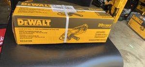 "DEWALT DCG412B 41/2""(115mm) GRINDER 20v TOOL ONLY SOLO HERRAMIENTA for Sale in Raleigh, NC"