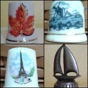 🌎 THIMBLE COLLECTIBLES - MORE COUNTRIES @ $2, $4 and $5 🌍 for Sale in Manteca, CA