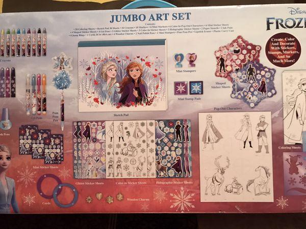 Disney's Frozen II Jumbo Art Set Over 500 Pieces